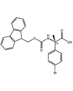 Fmoc-alpha-Me-L-Phg(4-Br)-OH
