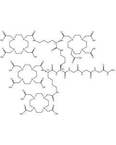 (DOTA-Lys(DOTA))2-Lys-Gly-Gly-Gly-N2H3*TFA