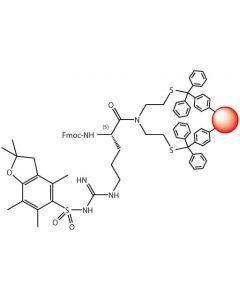 Fmoc-L-Arg(Pbf)-SEA-PS resin