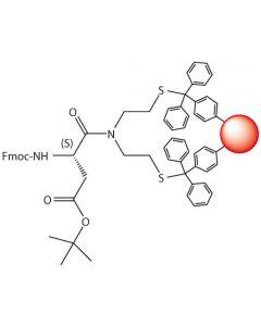 Fmoc-L-Asp(tBu)-SEA-PS resin