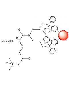 Fmoc-L-Glu(tBu)-SEA-PS resin