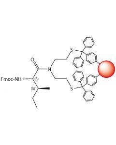 Fmoc-L-Ile-SEA-PS resin