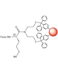 Fmoc-L-Met-SEA-PS resin