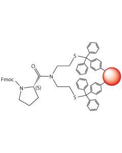 Fmoc-L-Pro-SEA-PS resin