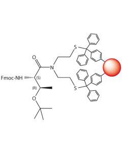 Fmoc-L-Thr(tBu)-SEA-PS resin