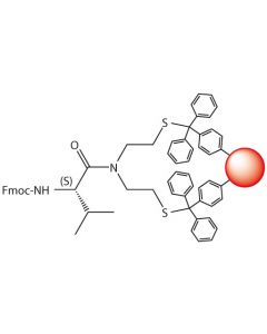 Fmoc-L-Val-SEA-PS resin