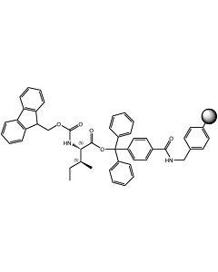 Fmoc-L-Ile-TCP-Resin