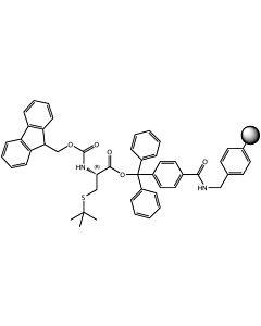 Fmoc-L-Cys(tBu)-TCP-Resin