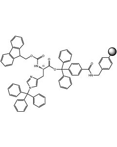 Fmoc-L-His(Trt)-TCP-Resin