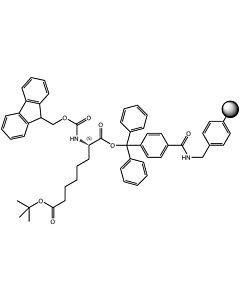 Fmoc-L-Lys(Boc)-TCP-Resin