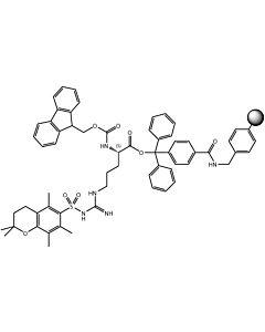 Fmoc-L-Arg(Pmc)-TCP-Resin