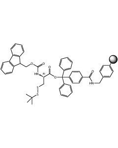 Fmoc-L-Cys(StBu)-TCP-Resin