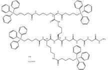 (TPP-Lys(TPP))2-Lys-Gly-Gly-Gly-N2H3*4Br*TFA