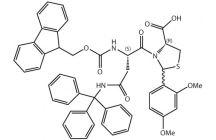 Fmoc-L-Asn(Trt)-L-Cys[PSI(Dmp,H)pro]-OH