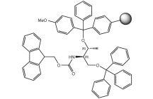 Fmoc-L-Threoninol(Mmt resin)-OTrt