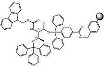 Fmoc-L-Thr(Trt)-TCP-Resin