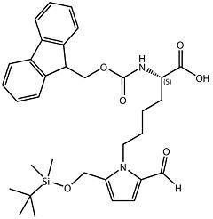 Fmoc-L-Pyrraline(TBS)-OH