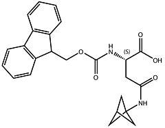 Fmoc-L-Asn(BCP)-OH