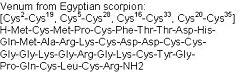 Chlorotoxin, mono-biotinylated