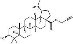 Betulinic acid propargylester
