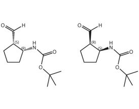 Boc-NH-cis-2-formylcyclopentyl