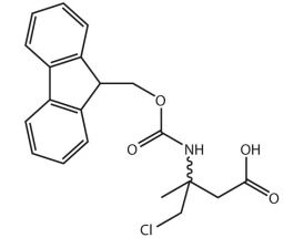 3-(Fmoc-NH)-4-Cl-3-Me-butanoic acid