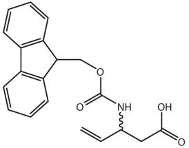 3-(Fmoc-NH)-pent-4-enoic acid