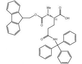 Fmoc-L-MeGln(Trt)-OH