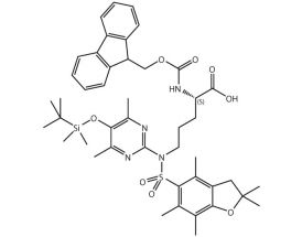 Fmoc-L-Argpyrimidine(Pbf,TBMS)-OH