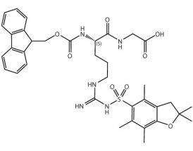 Fmoc-L-Arg(Pbf)-Gly-OH