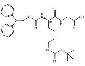 Fmoc-L-Lys(Boc)-Gly-OH