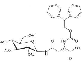 Fmoc-L-Asn(GlcAc4)-OH
