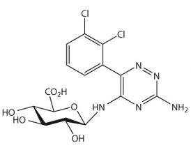 Lamotrigine-N-5-beta-D-glucuronide