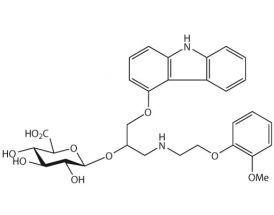 Carvedilol-O-beta-D-glucuronide