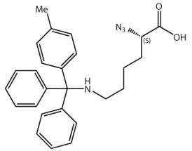 N3-L-Lys(Mtt)-OH