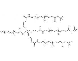 H2N-PEG(12)-[PEG(24)-CO-OtBu]3