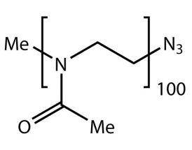 Me-PMeOx(100)-N3