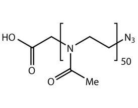 HOOC-PMeOx(50)-N3