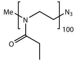 Me-PEtOx(100)-N3