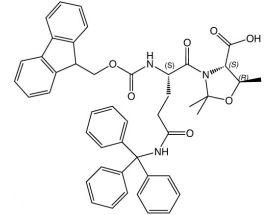 Fmoc-L-Gln(Trt)-L-Thr[PSI(Me,Me)Pro]-OH