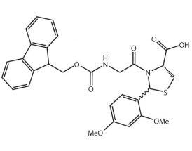 Fmoc-Gly-L-Cys[PSI(Dmp,H)pro]-OH