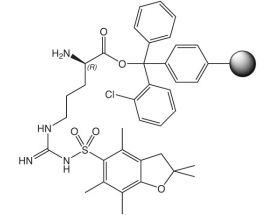H-D-Arg(Pbf)-2CT Resin