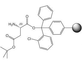 H-L-Asp(OtBu)-2CT Resin