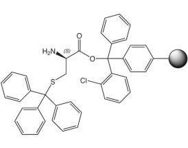 H-D-Cys(Trt)-2CT Resin