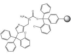 H-L-His(Clt)-2CT Resin