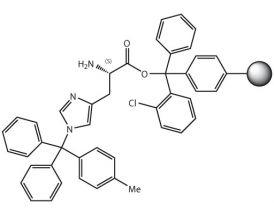 H-L-His(Mtt)-2CT Resin