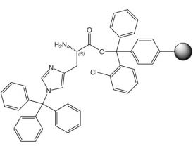 H-L-His(Trt)-2CT Resin