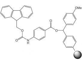 Fmoc-4-Aminobenzoic acid-4-methoxybenzhydryl resin