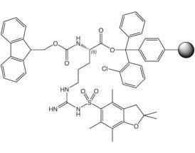 Fmoc-L-Arg(Pbf)-2CT Resin