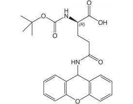 Boc-D-Gln(Xan)-OH